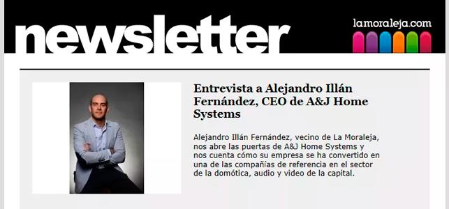 Entrevista a Alejandro Illán Fernández, CEO de A&J Home Systems
